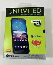 "Straight Talk 6.2""inch Screen Motorola Moto E (2020) - 32GB - Midnight Blue"