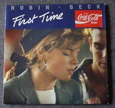 Robin Beck, first time - BO de la pub Coca cola, SP - 45 tours