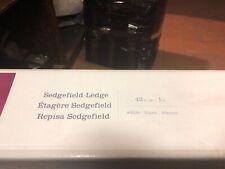 Sedgefield Ledge 42 inch long 8 inch w White Shelf 144427