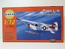 SMER 0949, Piper L-4 , Wasserflugzeug, USA, Bausatz, 1:72