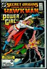 DC Comics SECRET ORIGINS #11 Golden Age HAWKMAN And POWER GIRL NM- 9.2