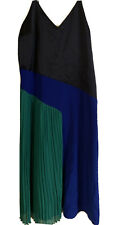 Cushnie For Target Navy Green Colorblock Dress Size 16