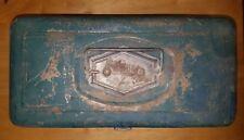 1950s Vtg Victor Metal Fishing Tackle Box Tool Chest  Victor Atco Lititz,PA USA