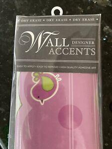Designer Wall Accents Dry Erase Organizer New Fun Teen Tween Office DoRMiToRy