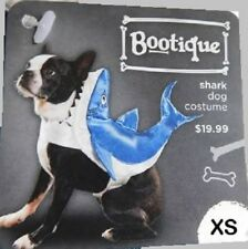 Petco Bootique XS Dog/Cat Halloween Costume Shark Hoodie Jacket Coat Extra Small