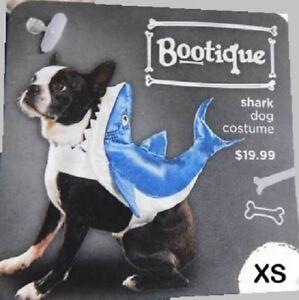 Petco Bootique XS Dog/Cat Halloween Costume Shark Hoodie Jacket Coat Extra Small