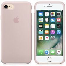 Apple iPhone Silicon Case Fits iPhone 8 & 7 Pink Sand Original Apple Cover