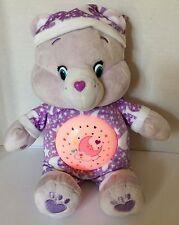Care Bears Sweet Dreams Magic Night Light Bear Plush Talks & Plays Music