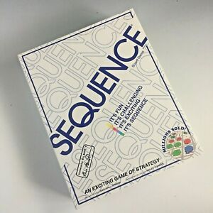 SEQUENCE board game by Jax - complete & cards still sealed
