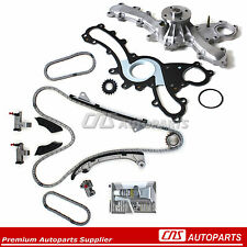 05-11 Fits Toyota Lexus 3.5L V6 Timing Chain Kit Water Pump 2GRFE 2GRFSE