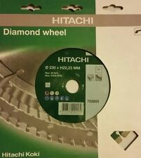 "HITACHI  9"" Diamond wheel  752805 230XH22,23MM"