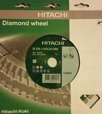 "HITACHI 9"" Diamante Ruota 752805 230XH22,23MM"