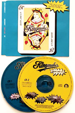 KINGMAKER ‎- Queen Jane EP (CD Single Pts 1 & 2) (F+/VG)