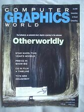 COMPUTER GRAPHICS WORLD MAGAZINE JULY 2002 OTHERWORLDLY IN VERY GOOD CONDITION