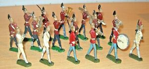 Lead SOLDIER FIGURES x17 - Unknown Maker OLD