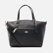 Coach Prairie Satchel Leather Handbag - Black