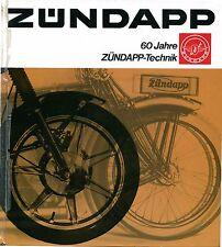 Zündapp 60 Jahre  Technik, (Original), (#36)