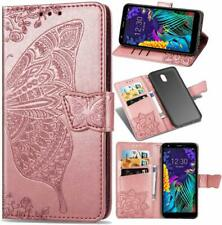 Butterfly Leather Flip Wallet Case Card Holder Cover For Samsung A10 A40 A70 A50