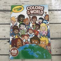 Crayola Colors of the World Coloring & Activity Book - Globe/Landmarks/Diversity
