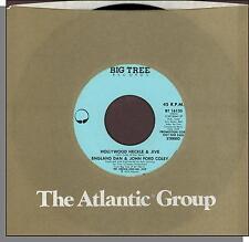 "England Dan & John Ford Coley - Hollywood Heckle & Jive - 7"" 45 RPM Single!"
