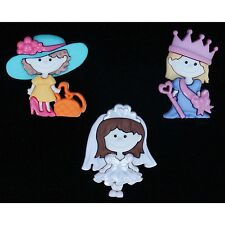 Dress it up Buttons, When she grows up, Scrapbooking,  craft