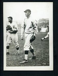 Walt Dickson circa 1910 Type 1 Press Photo by Paul Thompson New York Giants