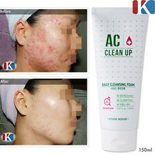 ETUDEHOUSE AC Clean-Up Daily Cleansing Foam 150ml / Acne & Blemish Treatment