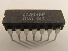 Ca3045f RCA dic16 General Purpose NPN transistor array 5x NPN TRANSISTOR