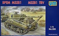 M32B1 Tank Recovery Vehicle << UM #225, 1:72 scale