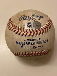 MLB Authenticated-Javier Baez 420 Ft HOME RUN (Career #112) Off Michael Lorenzen