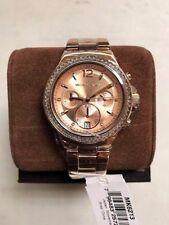 Michael Kors MK6213 Dylan Swarovski Chronograph Ladies Rose Gold Watch