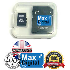 256GB MEMORY CARD MICRO SD CLASS 10 FOR MOBILE PHONE , CAMERA , TABLET , etc,
