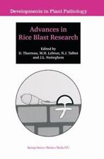 Advances in Rice Blast Research 15 (2010, Paperback)