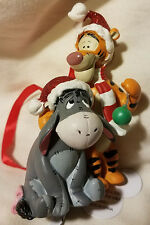 Disney Parks Tigger & Eeyore Winnie the Pooh Ornament Christmas Holiday - NEW