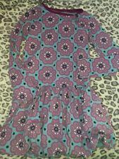 Tea Collection girl bubble dress size 10 y Euc Blue Printed