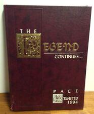 Pace University Legend Vol 30 1994 Year Book Route 117 Pleasantville New York