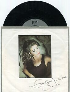 Single Sandra: Everlasting Love (Virgin 109 311-100) D 1987