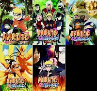 Naruto (Episode 1 - 720 End) ~ 35-DVD SET ~ English Dubbed Version ~ DHL USA
