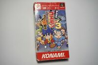 Super Famicom Mystical Ninja Ganbare Goemon 3 boxed Japan SFC game US Seller