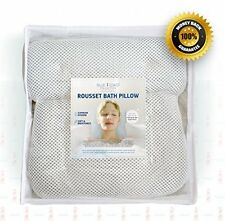 Non-Slip Bath Pillow for Spa Jacuzzi Bathtub & Hot Tub by Blue Coast Collection