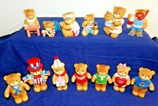 Lot Of 13 Lucy Riggs Lucy And Me Porcelain Bears