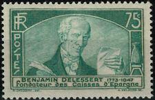 FRANCE 1935 Benjamin DELESSERT YT  n° 303 neuf ★★ Luxe / MNH