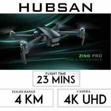 Hubsan Zino PRO FPV  Foddable Drone 5G 4K FPV Quadcopter Brushless 3Gimbal BNF