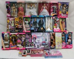 Barbie/Doll lot of 26: X Files, Western, Vikings, Greece, Disney & More NR