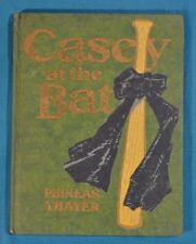 Casey At The Bat by Phineas Thayer Groesbeck First Hardcover McClurg 1912