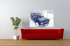 Photo Transport Soviet Lada Vaz 2101 Classic Car Giant Wall Art Poster Print