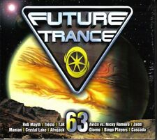 FUTURE TRANCE VOL.63 * NEW & SEALED 3CD DIGIPACK * NEU *