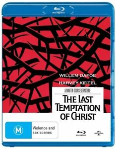 The Last Temptation Of Christ (Blu-ray, 2013)