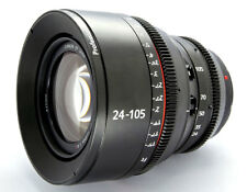 Cinematics Cine lens Canon 24-105mm f4 Canon EF mount for BMCC BMPCC 5D RED