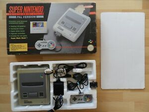 boxed & fully working - SNES / SUPER NINTENDO CONSOLE